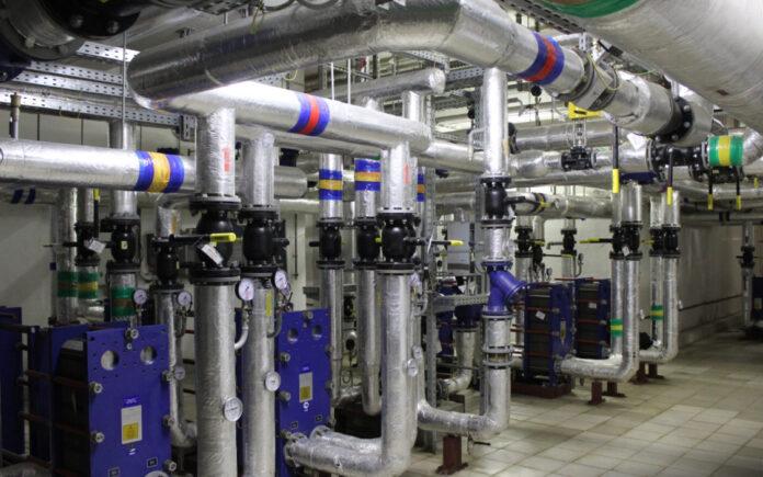 В 4-м корпусе ведутся работы по инженерным системам